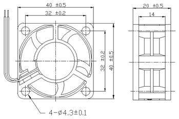 dc fan 4020  dc4020 cooling fan  u2014 fantech